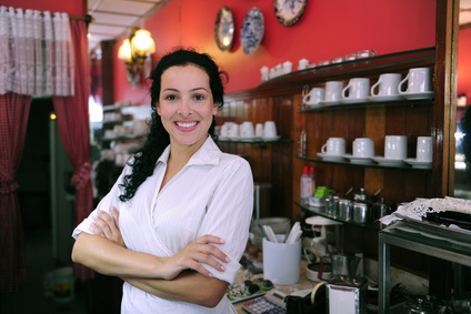 business owner cafe